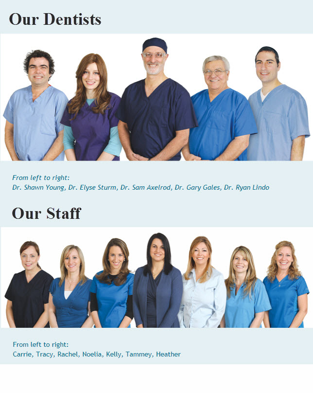 Dentists and Staff