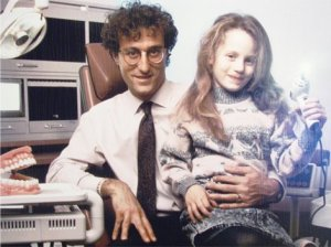 Dr. Sam Axelrod and the future Dr. Elyse Sturm, circa 1988